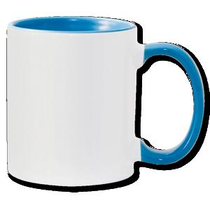 15oz light blue interior Photo Mug