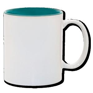11oz Green Photo Mug