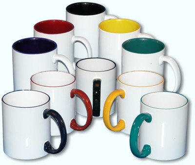 Company logo coffee mugs
