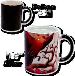 Color Changing Morph Mugs