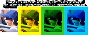 Print on Color Demo