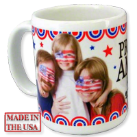 Usa Made Photo Mugs
