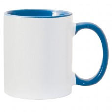 11oz Color Combo Cambridge Blue Mug