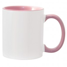 11oz Color Combo Pink Mug