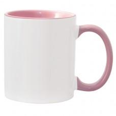 11oz Color Combo Pink Mug