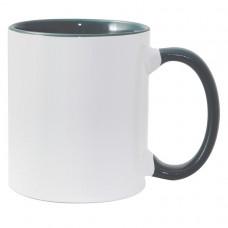 11oz Color Combo Green Mug