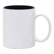 Black 2-tone 11oz mug