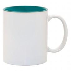 Green 2-tone 11oz mug