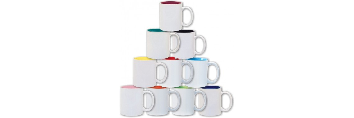 2 Tone Color Mugs