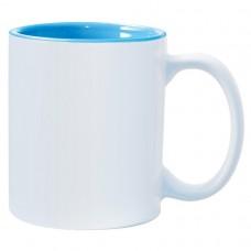 Light Blue 2-tone 11oz mug