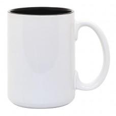15oz 2 Tone Black Mug