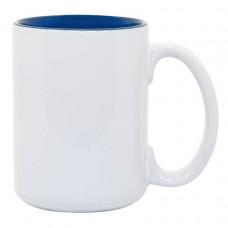 15oz 2 Tone Blue Mug