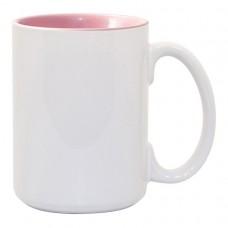 15oz 2 Tone Pink Mug