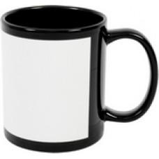 11 oz Black ceramic
