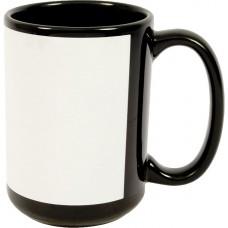 15 oz Black ceramic