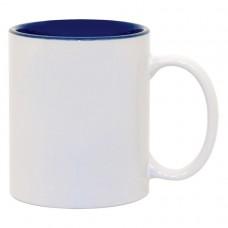 Blue 2-tone 11oz mug