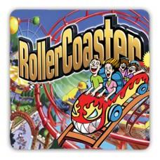 Rubber Black-Backed Coaster - Square