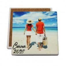 "IronClad Square Sandstone Coaster – 3.94"""