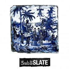 "Slate Coaster - 3.9"" x 3.9"" - Square Gloss"