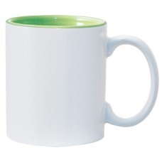 Light Green 2-tone 11oz mug