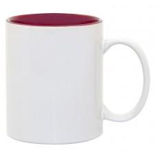 Maroon 2-tone 11oz mug