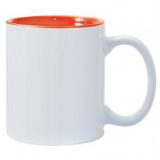 Orange 2-tone 11oz mug