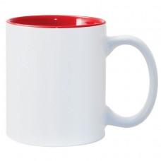 Red 2-tone 11oz mug