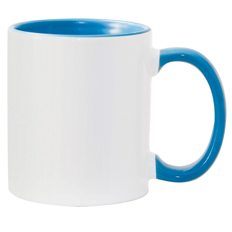15oz light blue interior Photo Mug