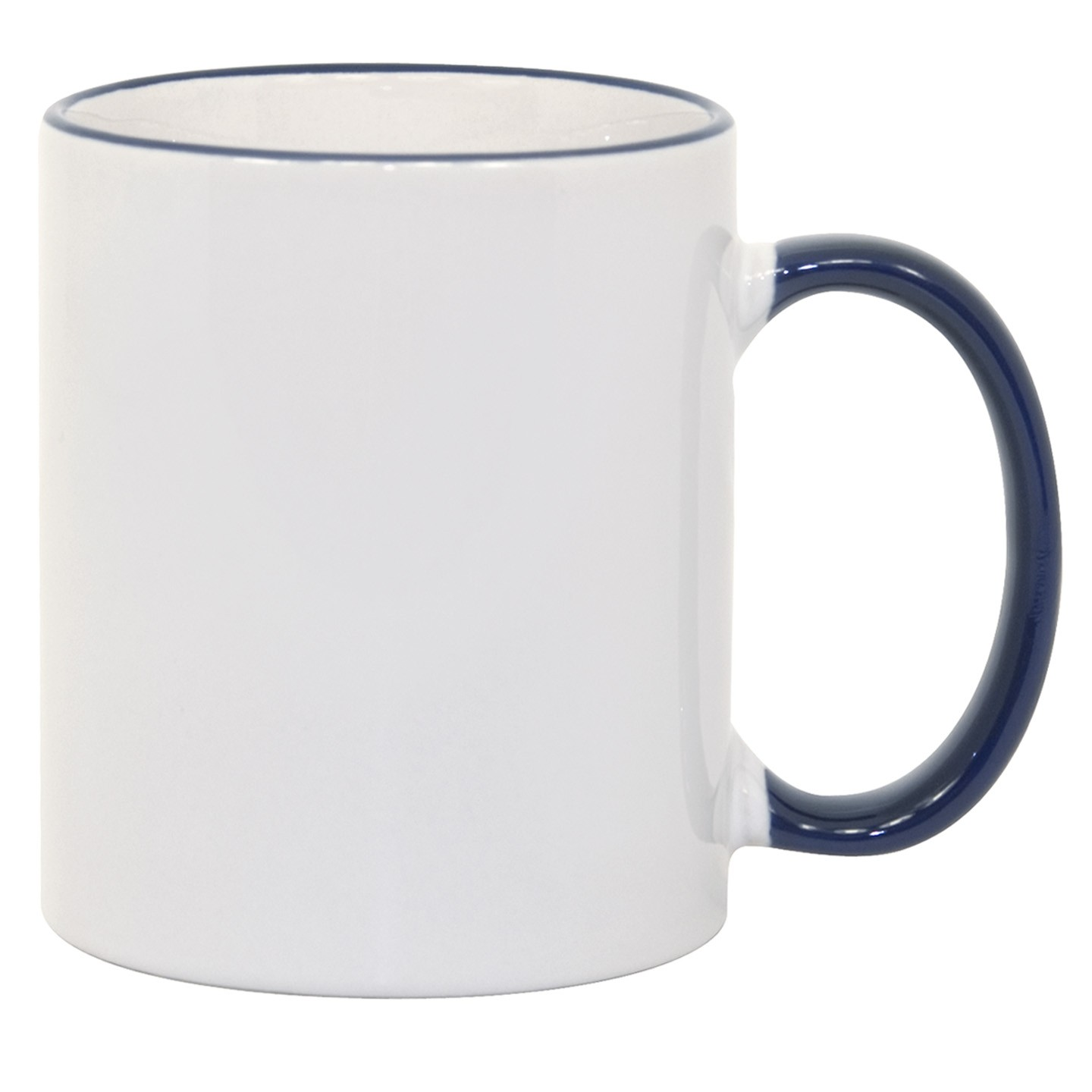 11oz Blue Photo Mug