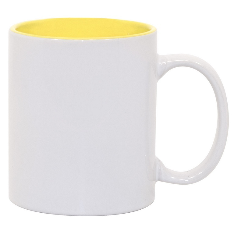 11oz Light Green Photo Mug