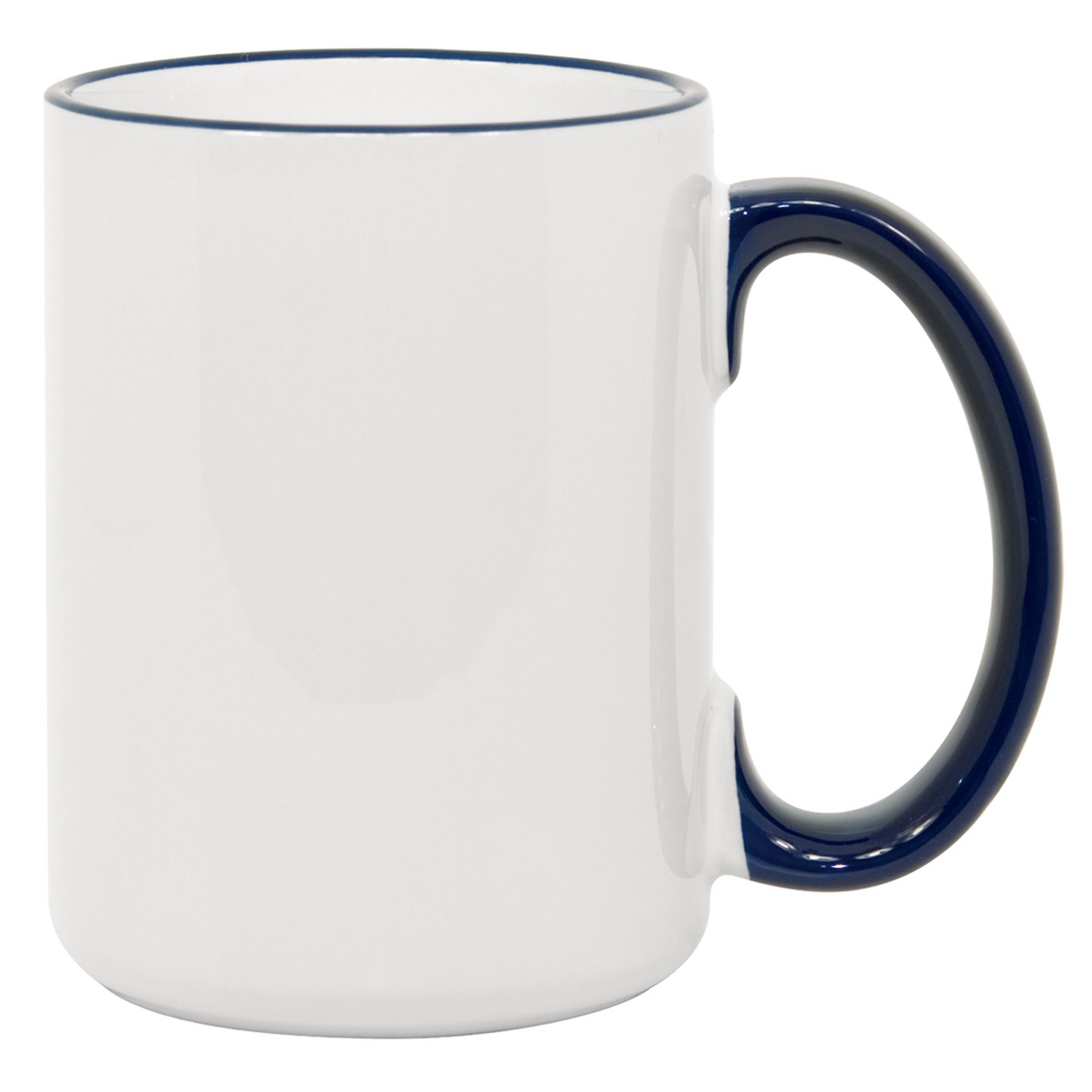 15oz blue Photo Mug