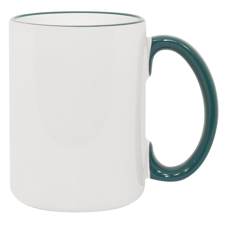 15oz Green Photo Mug
