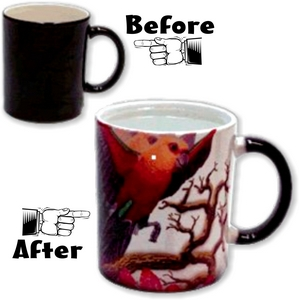 Color Changing Morph Mugs
